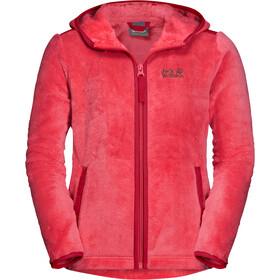 Jack Wolfskin Nepali Jacket Kids tulip red